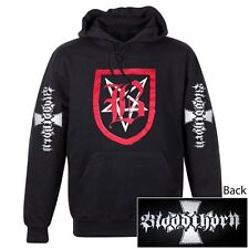 BLOODTHORN - Shield - Kapuzenpulli Hooded Sweater - Größe Size XL - Neu