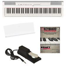 Yamaha P-121 Digital Piano - White BONUS PAK