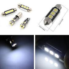 21Pcs Car Dome Map License Plate Interior White LED Light Lamp Kit Plug and Play