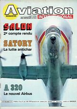 Lot de 10 revues AVIATION Magazine International 1981