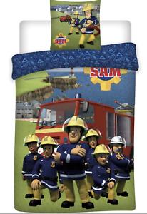 Fireman Sam Single bed DUVET COVER SET NEW