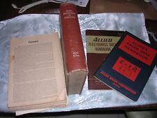 Lot Of 4 Vintage Radio Electronics Books