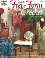How to Free-Form Crochet Margaret Hubert Instruction Pattern Annie's Attic NEW