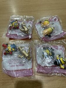 McDonalds Minions Happy Meal Toys New 14 17 & 19 Includes Gold Minion