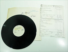 "JOE COCKER-D 80 S WL Test sonore 12"" Vinyle Teachers ""EDGE OF A DREAM"" 1984"