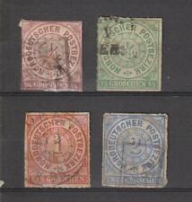 Duitsland Germany Deutschland classic states NORDDEUTSCHER BUND 1868 - 1869