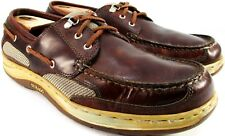 Sebago Clove Hitch 2 Walnut Men Deck Shoe Size 12N 46.5 Brown Style 515233