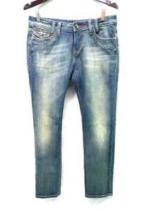 Vigoss Studio 9 10 30 The Delancy Skinny Blue Jeans Dark Wash Denim Mid Rise