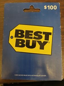 BEST BUY GIFT CARD $100