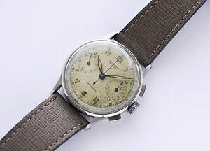 Universal Geneve Uni-Compax 224100 Cal 285 Watch - NO RESERVE