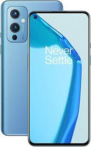 OnePlus 9 5G Arctic Sky, Dual SIM, 256GB 12GB, Official Warranty, No Brand