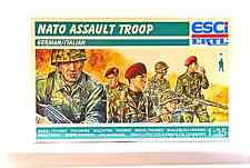 ESCI ERTL #5507 1/35 NATO Assault Troop - German / Italian - mint boxed set