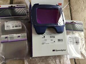 3M Speedglas Auto-darkening Filter 9100XX + 10 outer 5 inner Protection plates