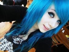 Berina Hair Professional Permanent Hair Dye Color Cream A41 Blue Color