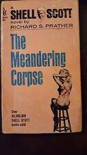 """Richard Prather, """"Meandering Corpse,"""" 1968, Pocket 55024,G"""