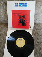 "West Side Story Soundtrack LP Vinyl vinyl 12 "" 1982 G VG Spanische Presse CBS"
