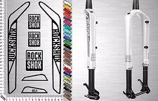 ROCK SHOX RS1 Set 1 | Bike Fork Sticker | Fahrrad Federgabel Aufkleber |7 Decals