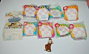 1996 McDonald's Happy Meal Toys Aladdin King of Thieves Complete Set of 8