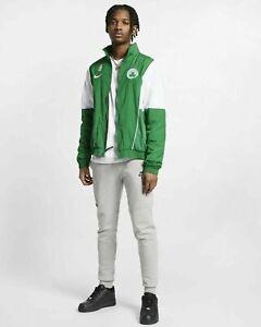 $90 NEW Nike Boston Celtics Courtside NBA Basketball Tracksuit Jacket  AV6703 L