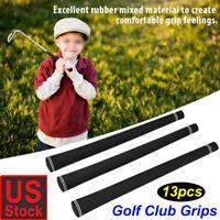 13 Piece Standard SOFT GRIP REGRIP RE GOLF CLUB BLACK .600 MID VELVET GRIPS USA
