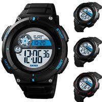 SKMEI Men's Outdoor Sport Digital Military Big Face Alarm Quartz Wrist Watch
