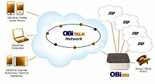 OBi200 1-Port VoIP Phone Adapter with Google Voice and Fax Support for Home and