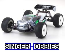 Kyosho MP10T 4WD Nitro Radio Control IFMAR Truggy Race Kit Clear KYO33017 HRP