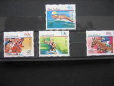 NUOVA Zelanda 1988 GIOCHI OLIMPICI SEOUL emissione NHM SG1475/8