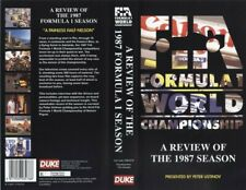 GENUINE AUTHENTIC F1 1987 REVIEW VHS FORMULA ONE OFFICIAL REVIEW VIDEO