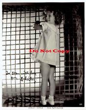 Shirley Temple Vintage autographed 8x10 photo RP
