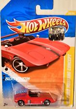 HOT WHEELS 2010 NEW MODELS '62 FORD MUSTANG CONCEPT RED FACTORY SEALED W+