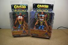 Genuine Neca Crash Bandicoot avec Crate & Jet Pack Crash action figures Entièrement neuf dans sa boîte