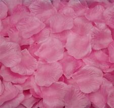 BABY PINK SILK ROSE PETALS FLOWER TABLE DECORATION CONFETTI WEDDING PARTY
