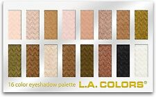 L.A. Colors 16 Color Eyeshadow Palette, Sweet 1 ea