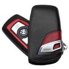 BMW Nuovo Originale 1 3 4 5 6 7 X4 Guscio Della Chiave pelle Rosso/Nero