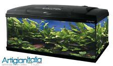 ACQUARIO ACQUARI COMPLETO CON ACCESSORI EVOLUTION 100  115 LITRI MOBILE  HAQUOSS