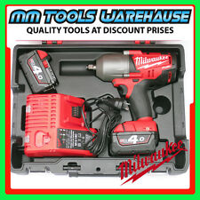 "Milwaukee 18V Li-Ion Cordless Fuel 1/2"" Impact Wrench 2763-22 M18CHIWF12-0 kit"