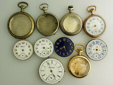 Lot of Lady Hampden Pocket Watches with some extra cases