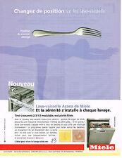 PUBLICITE ADVERTISING 045  2005  MIELE  lave vaisselle ASANA 2