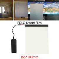 Electric PDLC Film Smart Glass Window Door Tint Switchable Smart Film 6''x4'' !