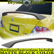 2004 2005 2006 2007 LANCER Ralliart MATTE BLACK Factory Style Spoiler Wing w/LED