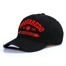 2017 New Dsquared2 Brotherhood Baseball Cap - Black