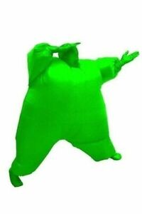 Adult Chub Suit Inflatable Clothing Blow Up Blue Green Red Purple Pink Halloween
