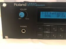 Roland D-550 Digital Linear Synthesizer Rack - Very Good Condition!