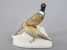 Galluba & Hoffmann Ilmenau, Vogel Figur, Fasanenpaar, Mod-Nr. 5521, Höhe 15,5cm