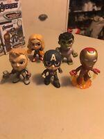 Captain America, Iron Man, Thor, Hulk, Captain Marvel Endgame Mystery Minis !!