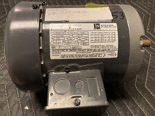 Emerson Lr2459 1/3hp 1725rpm 3 Phase 5/8 Shaft 230/460 Volt