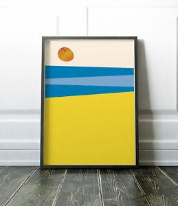 Wall Art Print, Abstract Print, Beach Print, Abstract Wall Art, Beach Poster