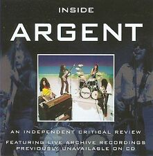 Inside Argent: A Critical Review by Argent (CD, Apr-2005) NEW