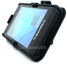 For Blackberry Z10 Black Belt Clip Holster Kickstand Hard Cover Case Protector